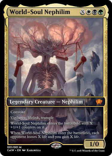 World-Soul Nephilim Card Spoiler