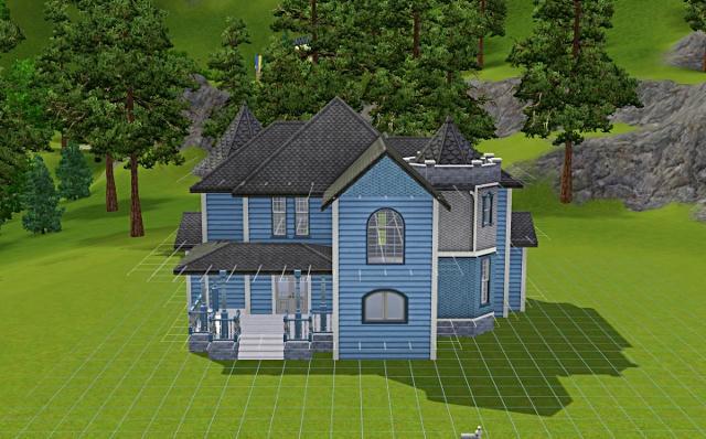 [Débutant] - Du carré à la maison victorienne - La maison bleue Jb35h17nrergjwczg
