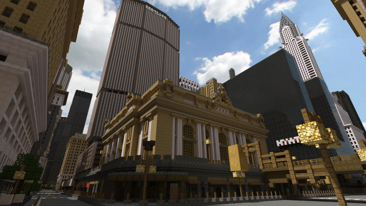 central minecraft city map download flash the