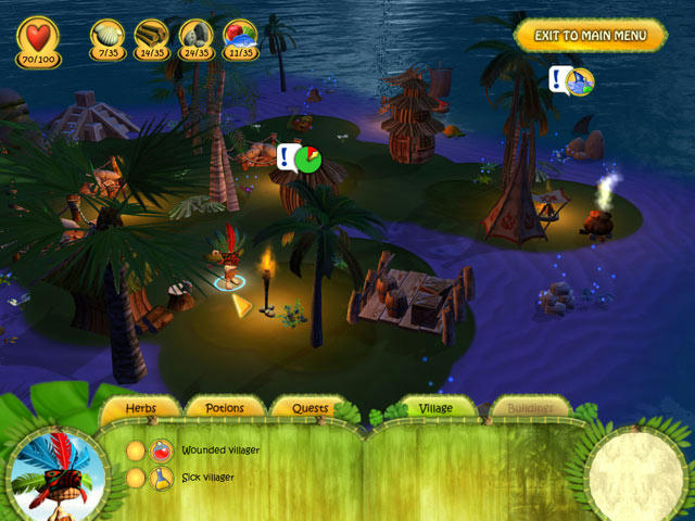 Shaman Odyssey - Tropic Adventure ภาพตัวอย่าง ๒