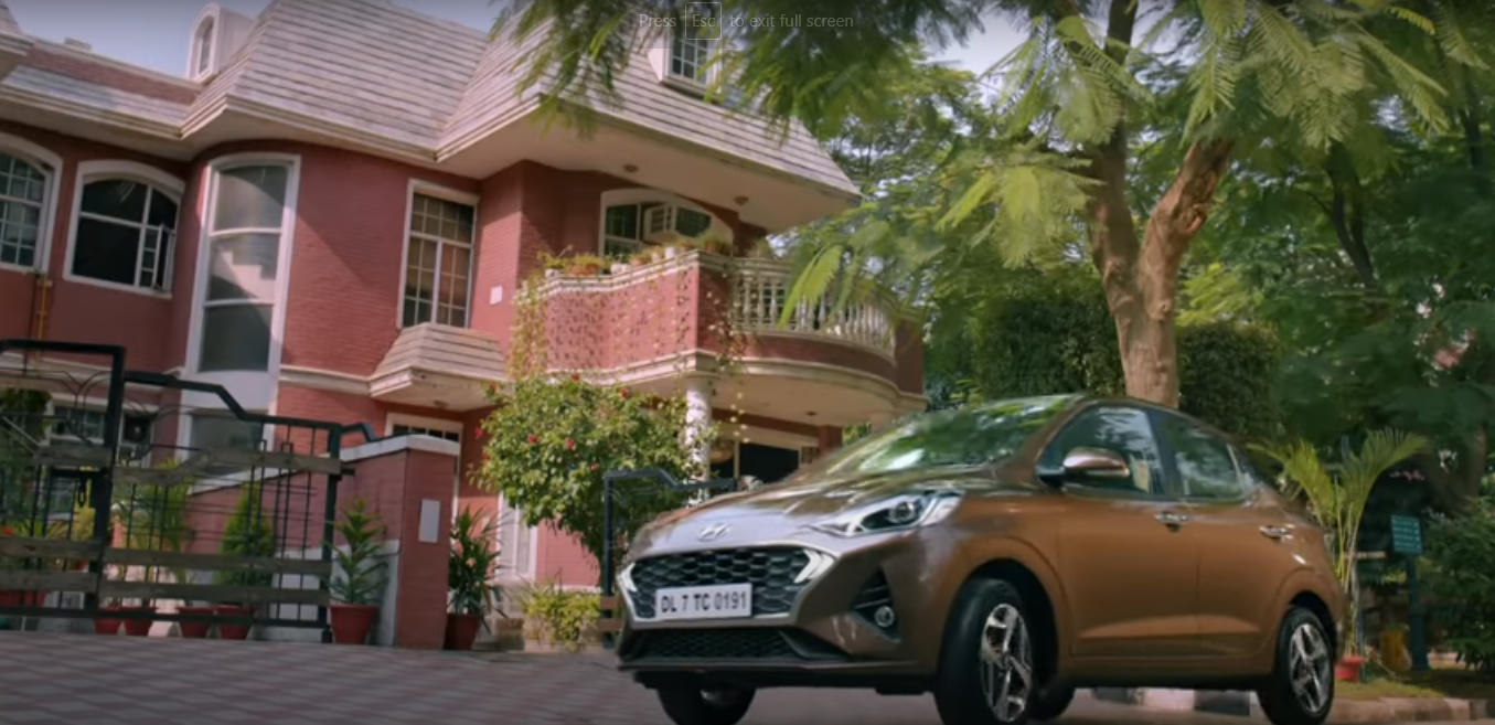 Akkad Bakkad Hyundai Santro Smart Cars AD Song Girl, Model - Cast Name 2020