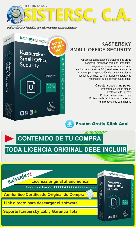 Kaspersky Samall Security Office
