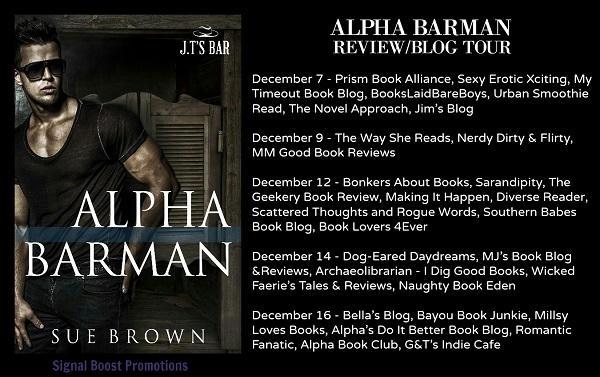 Sue Brown - Alpha Barman Tour Banner