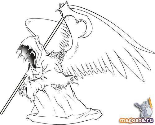 Картинки ангела падшего ангела