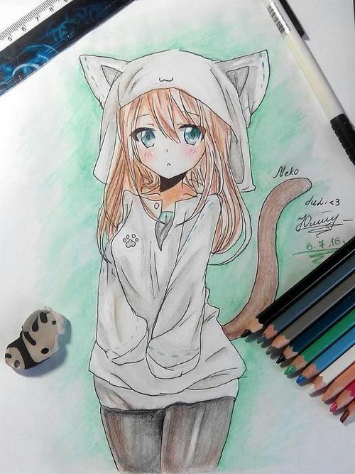 Крутые девушки аниме