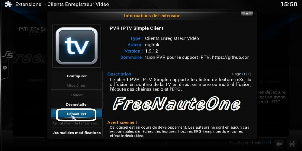 شرح تشغيل روابط وامتدادات IPTV.m3u على برنامج KODI لأجهزة PINACLE