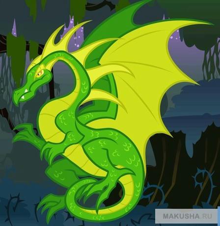 Рисунки дракона для детей