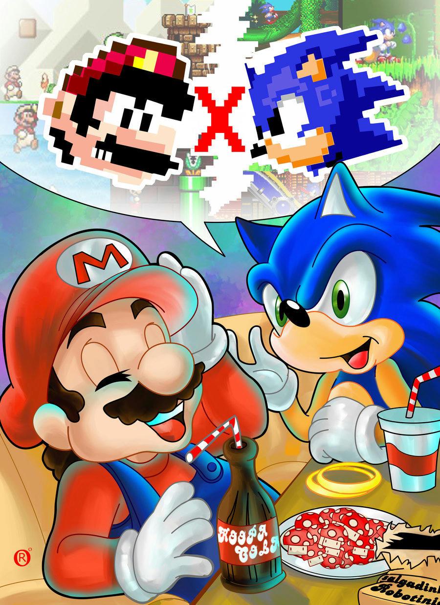 Mario & Sonic!