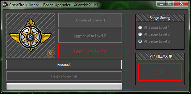 UPDATE]CrossFire KillMark/KillBadge/Badge Upgrader + VIP HEADSHOT v4