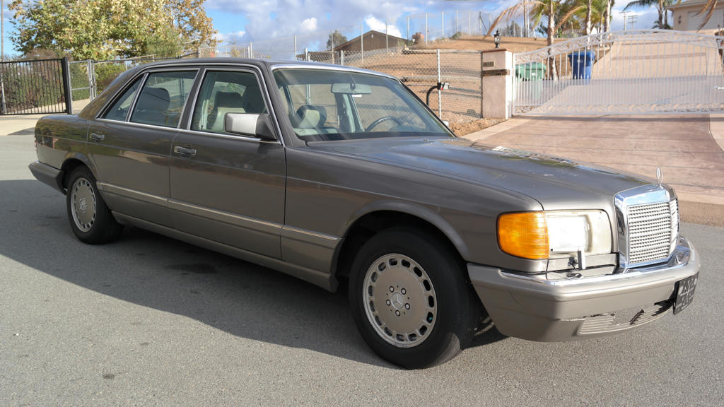 Find used 1 owner 86 mercedes benz 560sel w126 saloon 560 for 1986 mercedes benz 420 sel