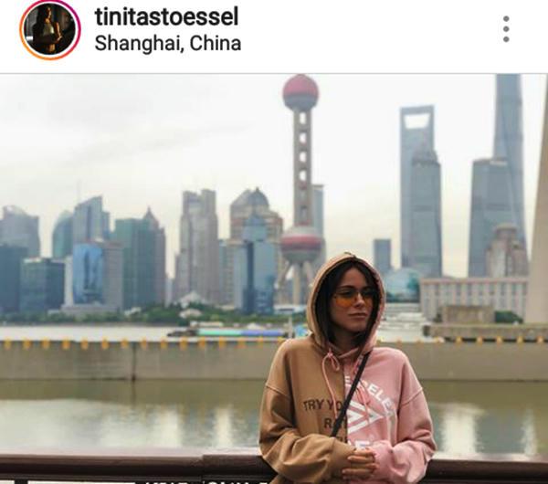 Tini Stoessel luce invencible en Shanghai