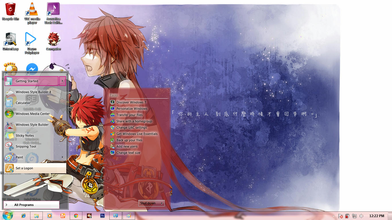 Elsword Rune Slayer [Theme Win 7] 2