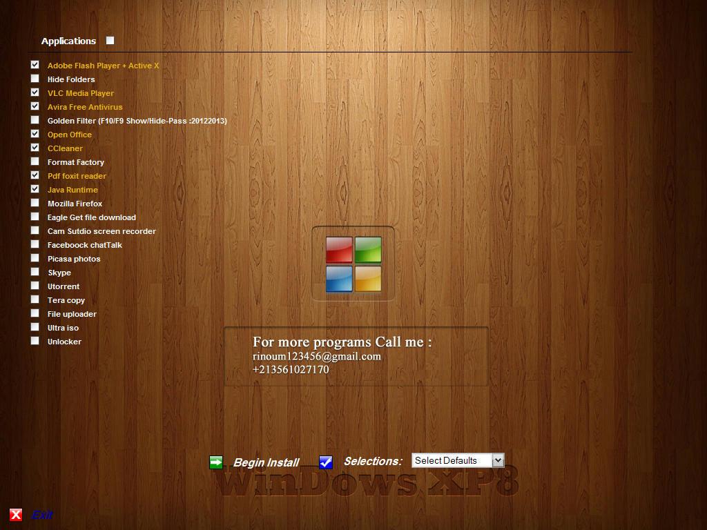نسخة خطيرة Windows XP8 Roke36er4gw8ecgfg