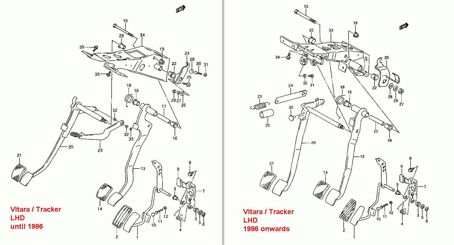 parts diagram 97 grand am 2 4  parts  free engine image
