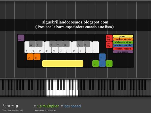 synthesia espanol teclado