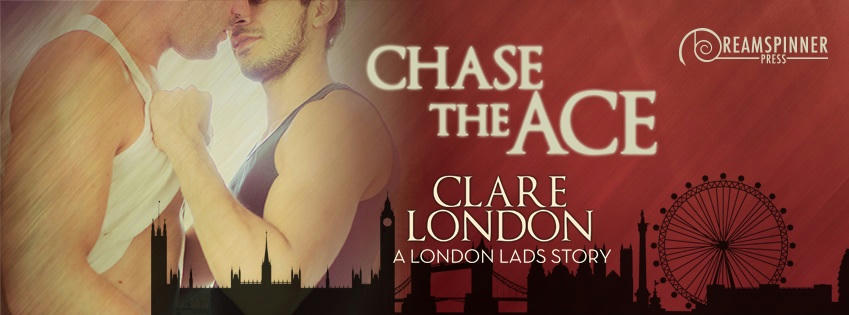 Clare London - Chase the Ace Banner