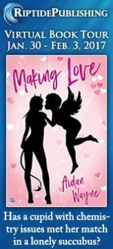 Aidan Wayne - Making Love Badge