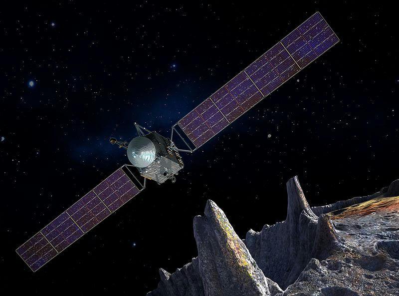 La NASA va tras el misterioso 16 Psyche, el asteroide metálico