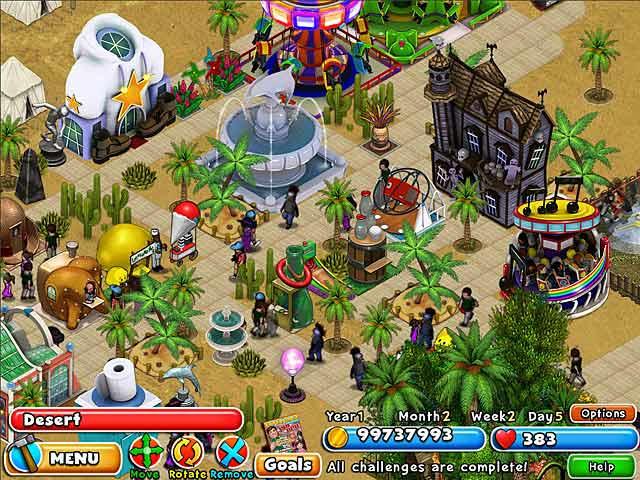 Dream Builder - Amusement Park ภาพตัวอย่าง 01