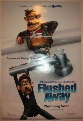 داستان انيميشن بر آب رفته Flushed Away - 2006