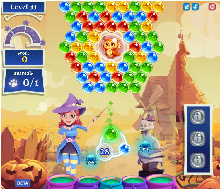 ����� ���� bubble witch saga 2