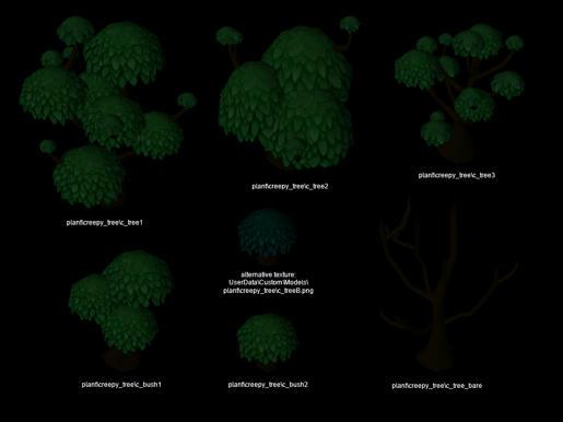 [Models][Transparent] Swamp Trees P664aik1i9p3ecq4g