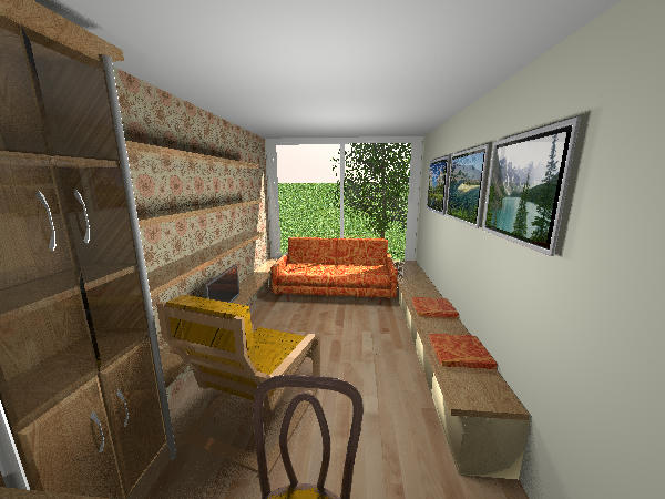 Very Nice. Your Project Reminded Me That I Made A Container House Also, A  Few Years Ago. I Updated It A Bit To Make Better Pictures.