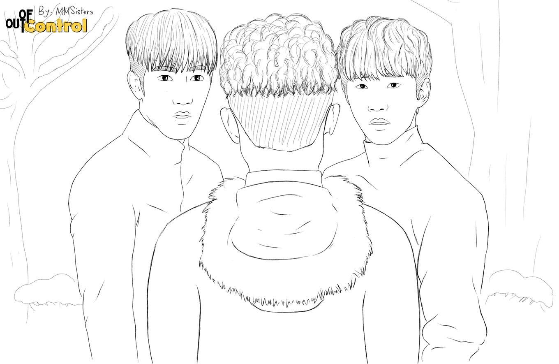 Minjun - Junho - Wooyoung - جونهو - مینجون - وویونگ