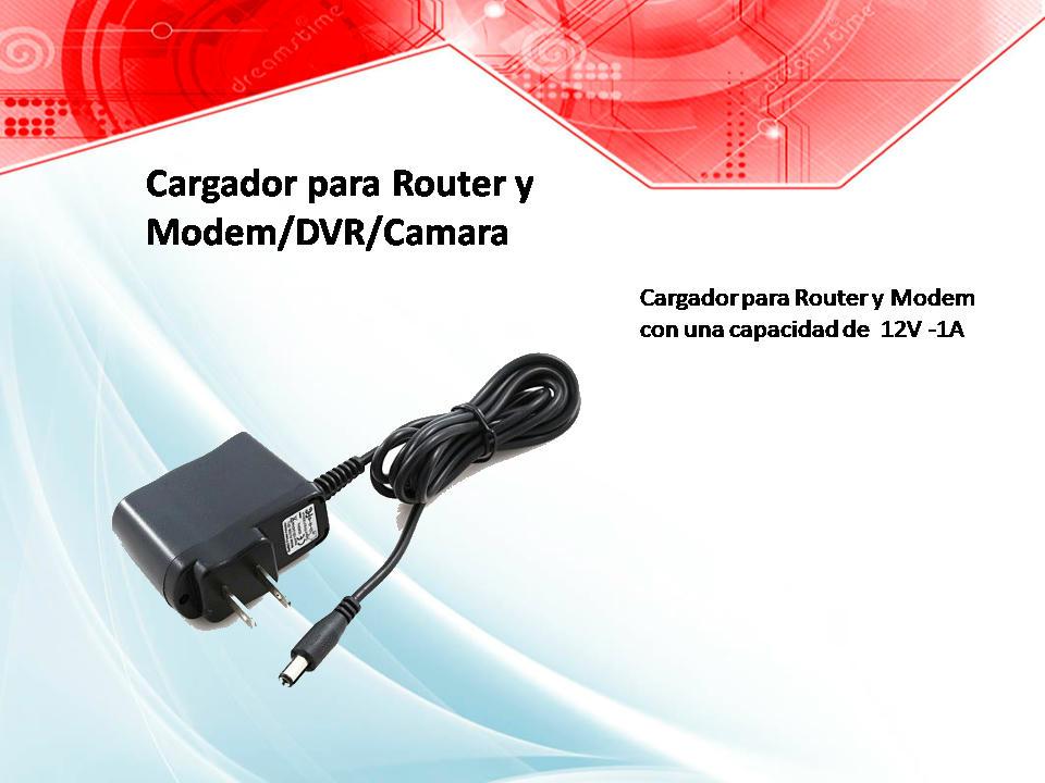Cargador para Router y Modem DVR Camara