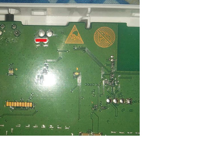 حل مشكل  B310s 927   المتوقف على لمبة الباور الضو الابيض