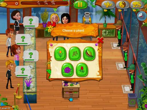 Garden Shop - Rush Hour! ภาพตัวอย่าง 02