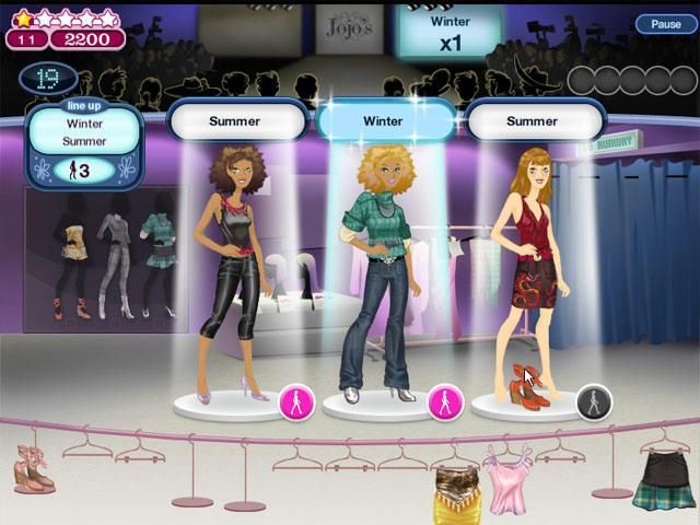 Jojo's Fashion Show ภาพตัวอย่าง 01