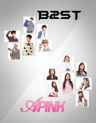 apink and beast skinny baby