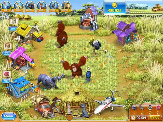 Farm Frenzy 3 - Madagascar ภาพตัวอย่าง 01