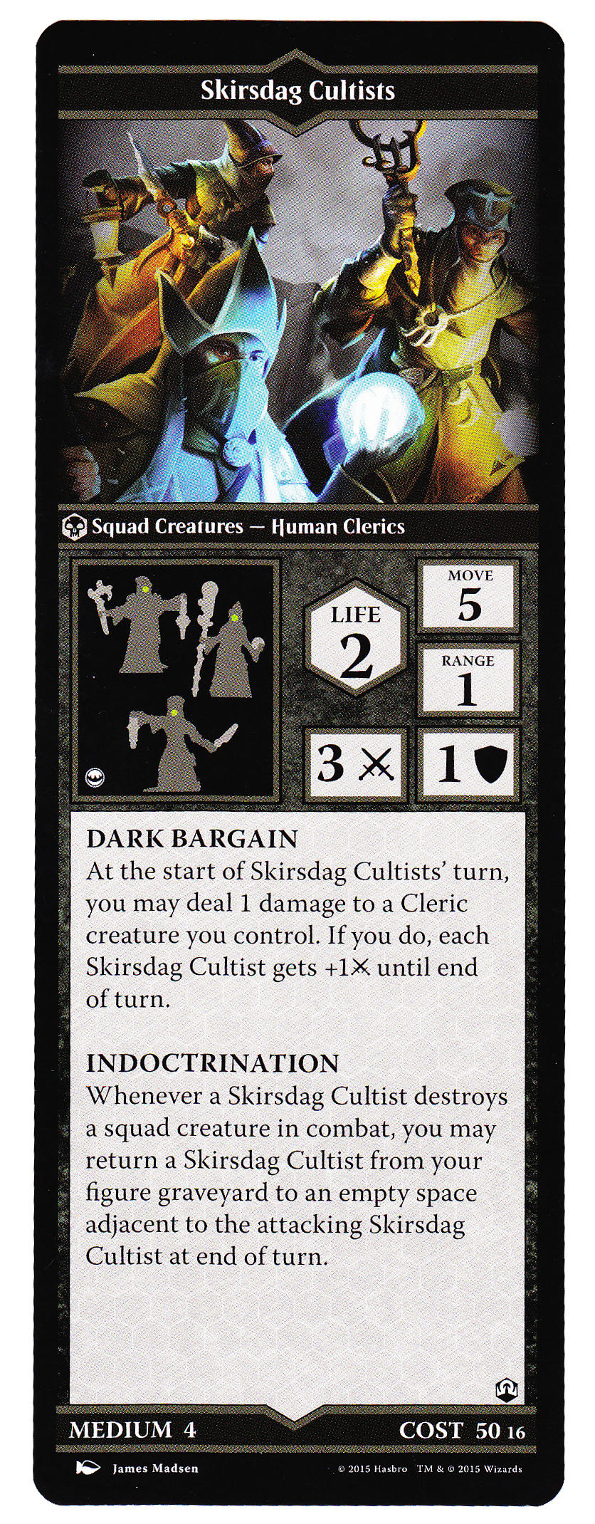 The Book of Skirsdag Cultists - Heroscapers Planeswalker Arena Custom