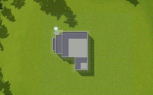 [Débutant] - Du carré à la maison victorienne - La maison bleue 2zrrg169da4l552zg