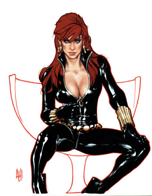 Heroínas sexis del Comic 1