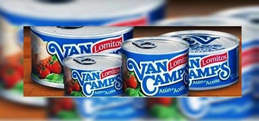 Preocupación por mercurio en latas de Atún Van Camps