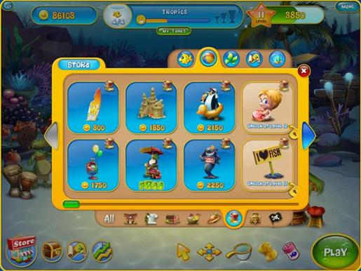 Fishdom 3 ภาพตัวอย่าง 03