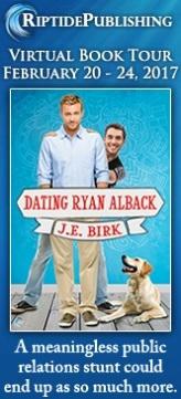 J.E. Birk - Dating Ryan Alback Badge