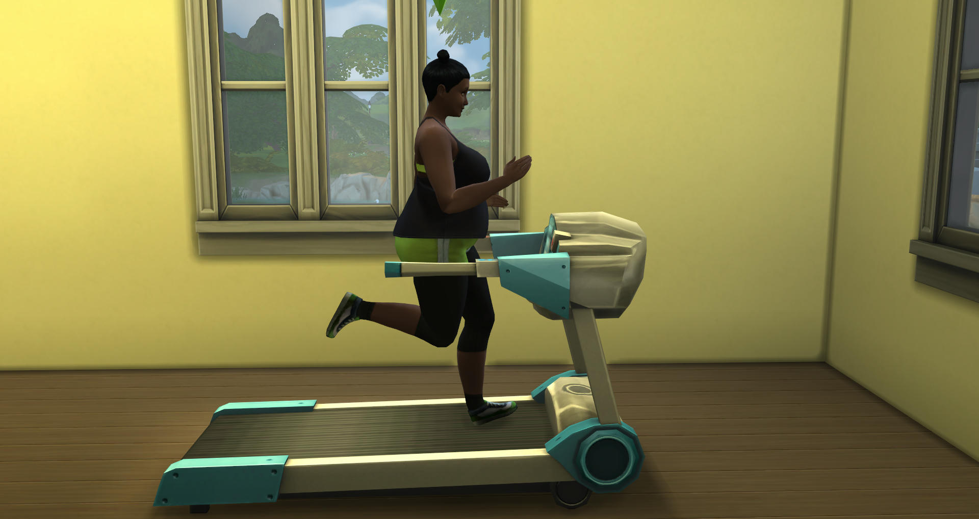 Besides, I Need To Use The Treadmill Too I Need