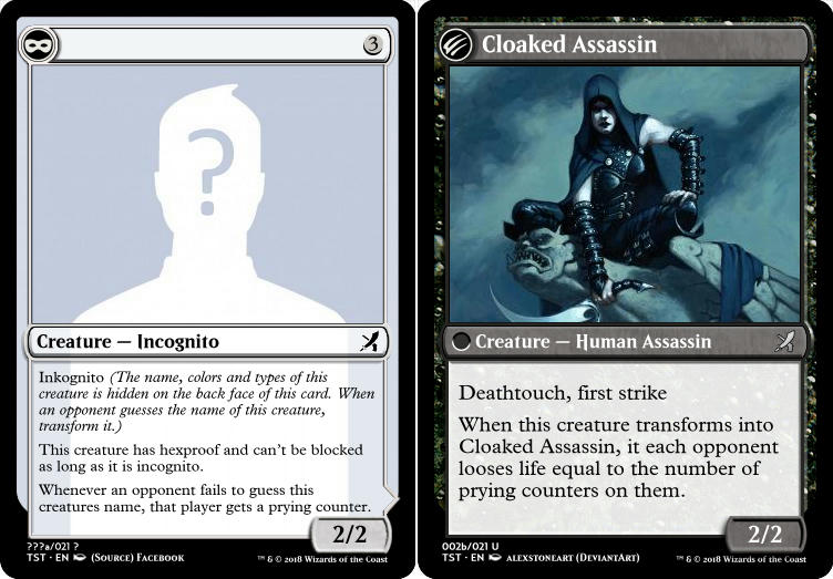 Incognito (Cloaked Assassin)