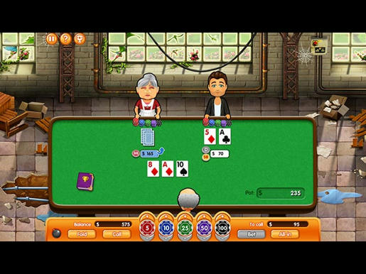 Hometown Poker Hero ภาพตัวอย่าง 01