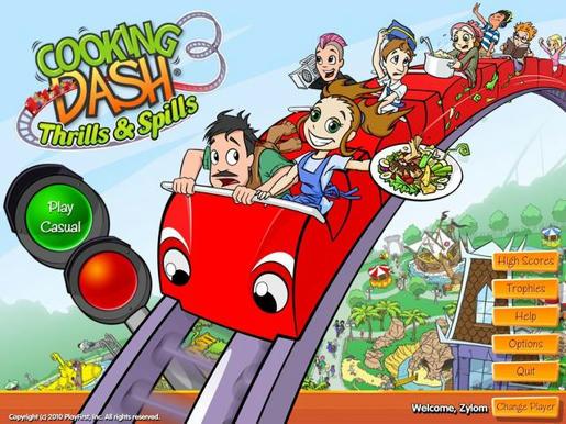 Cooking Dash 3 - Thrills & Spills ภาพตัวอย่าง 01