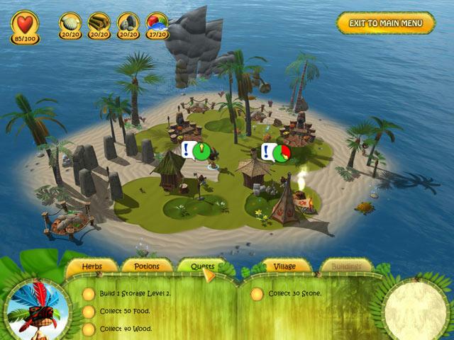 Shaman Odyssey - Tropic Adventure ภาพตัวอย่าง ๑
