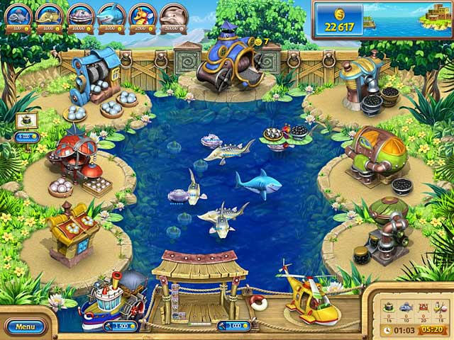 Farm Frenzy - Gone Fishing ภาพตัวอย่าง 02