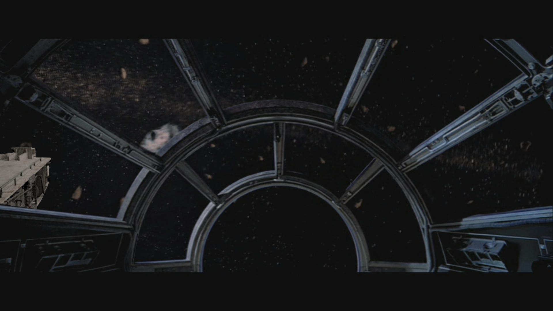 Displaying images for millenium falcon cockpit wallpaper - When Should We See The Falcons Mandibles Out The Window Original Trilogy