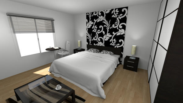 sweet home 3d forum view thread bedroom 1. Black Bedroom Furniture Sets. Home Design Ideas