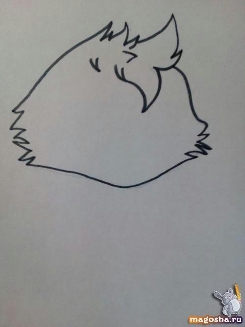 Как рисовать милую Чику