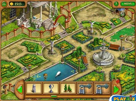 Gardenscapes ภาพตัวอย่าง 02